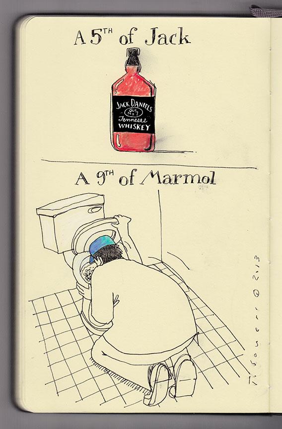 Carlos Marmol, terrible