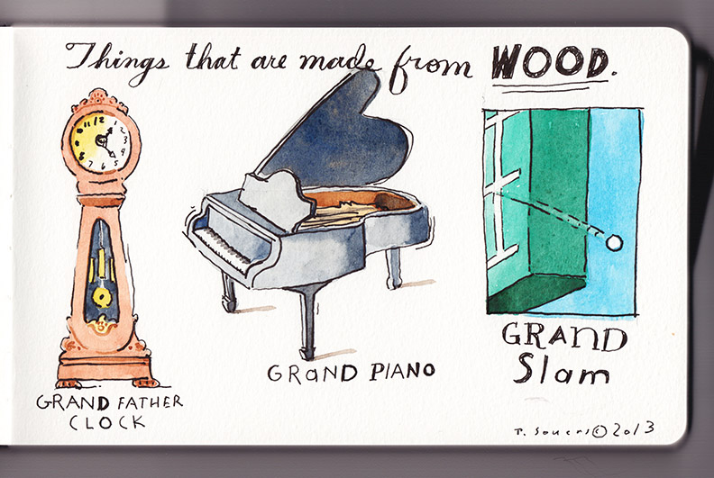 Travis Wood,Grand Slam,Cartoon