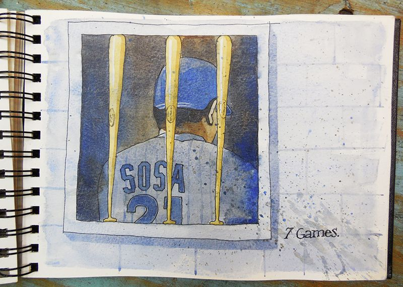 Sammy Sosa in Corked Bat Jail