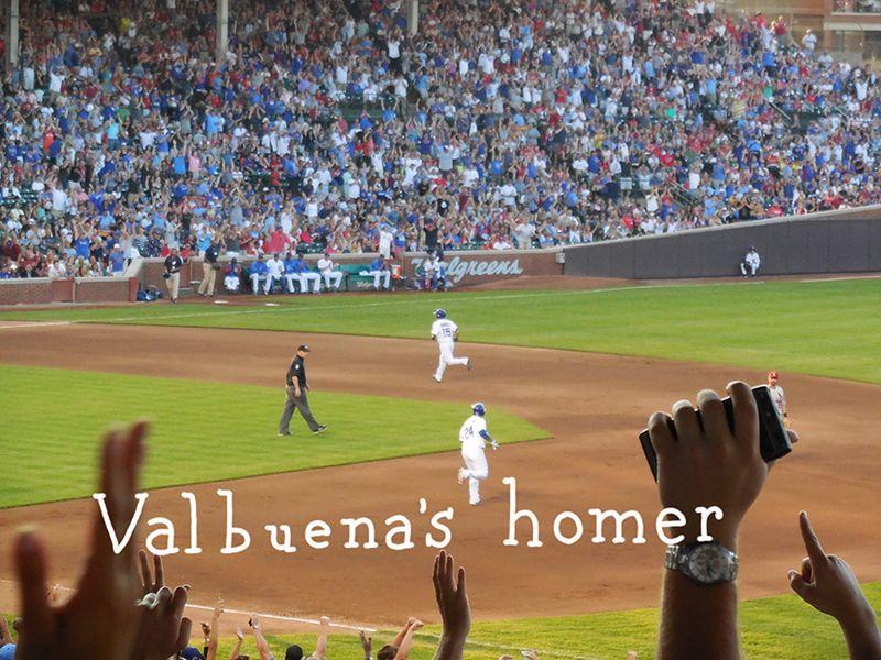 Valbuena's homer