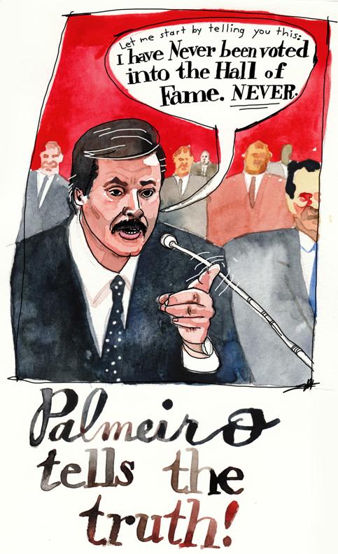 Rafael Palmiero lies to congress about steroids