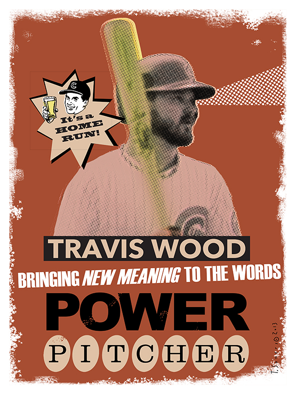 Travis Wood,power pitcher,power hitter
