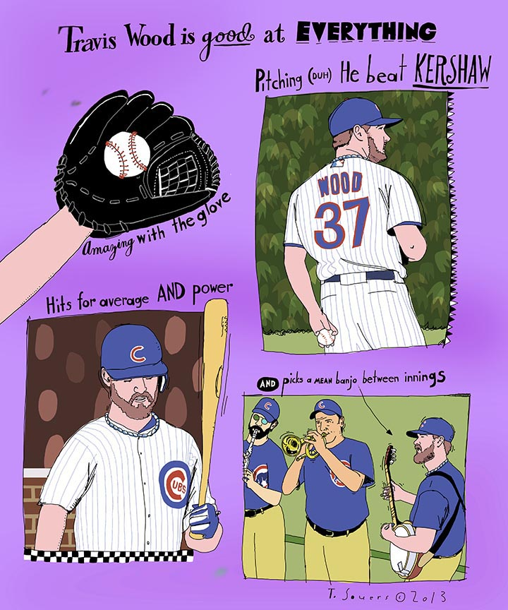 Travis Wood is good at everything