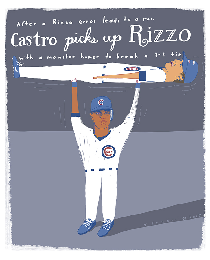 Castro picks up Rizzo