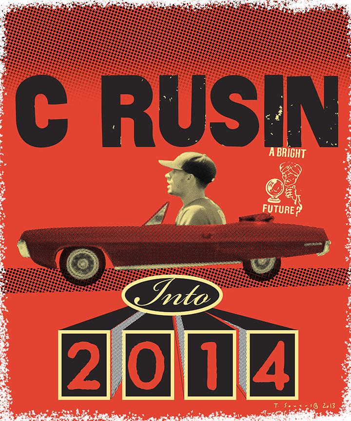 Chris Rusin is C Rusin