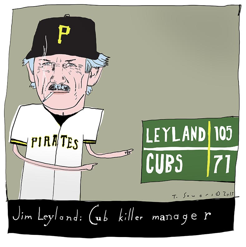 Jim Leyland, Cub Killer Manager