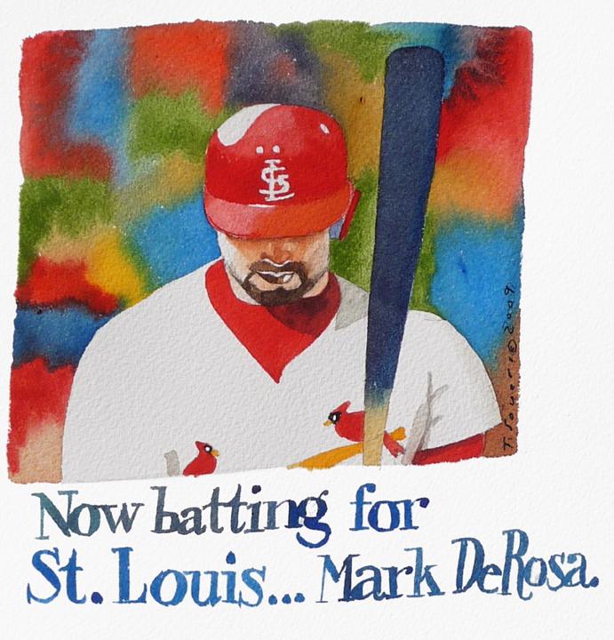 Mark DeRosa is a Cardinal