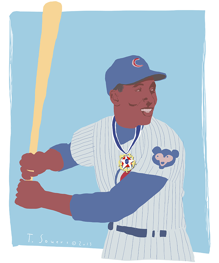 Ernie banks medal of freedom