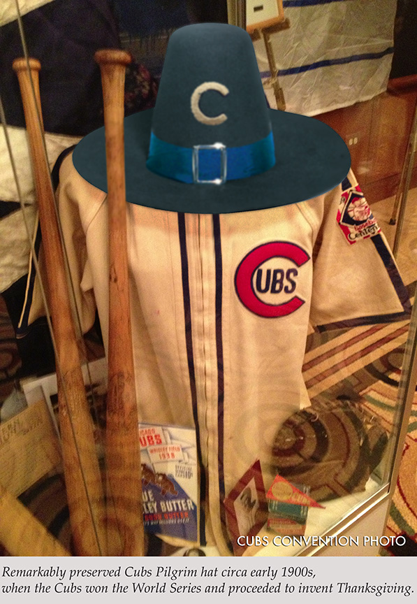 Preserved Cubs Pilgrim Hat