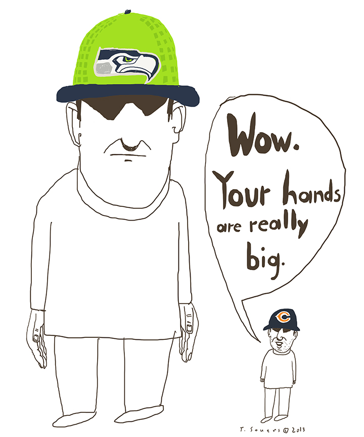 Seattle Seahawks give everybody an inferiority complex