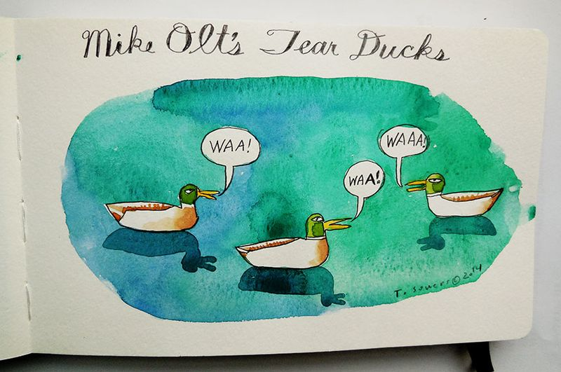 Mike Olt's Tear Ducks