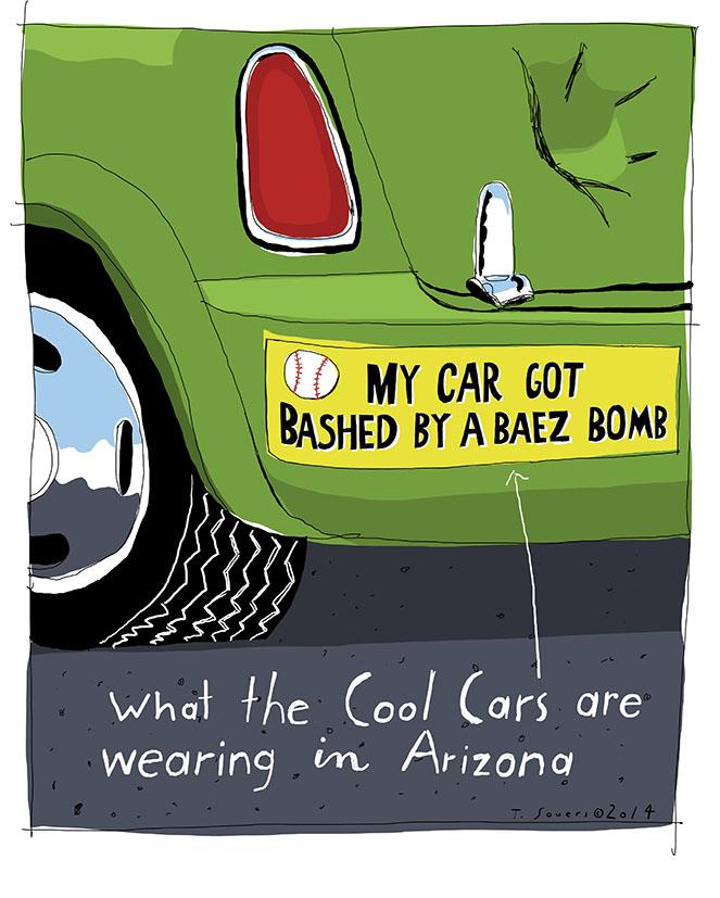Javier Baez Bumper Sticker