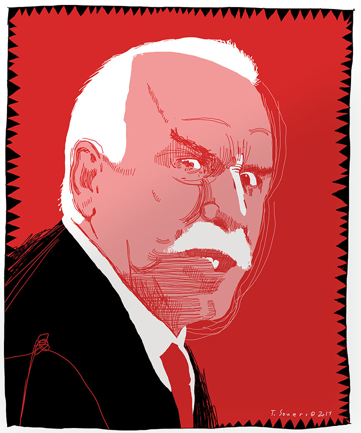 Joel Quenneville is angry