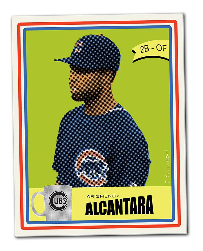 Alcantara baseball card