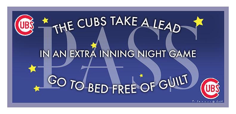 Cubs Free Pass