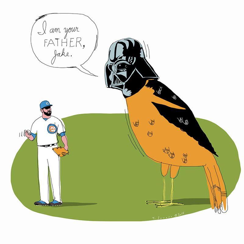 Jake Arrieta vs Orioles