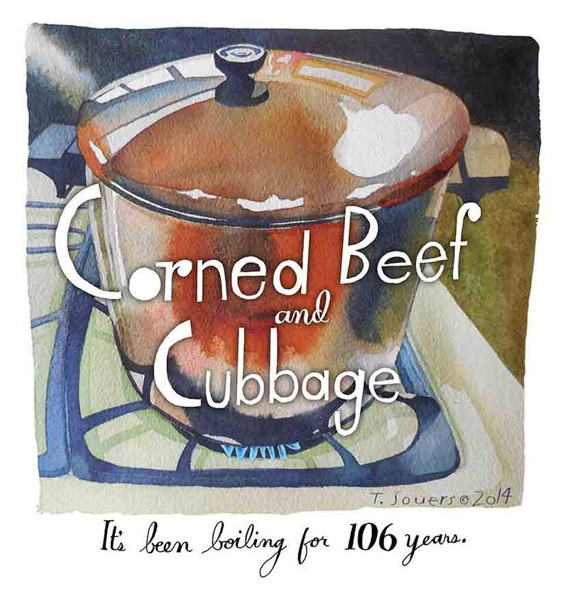 Corned Beef and Cubbage