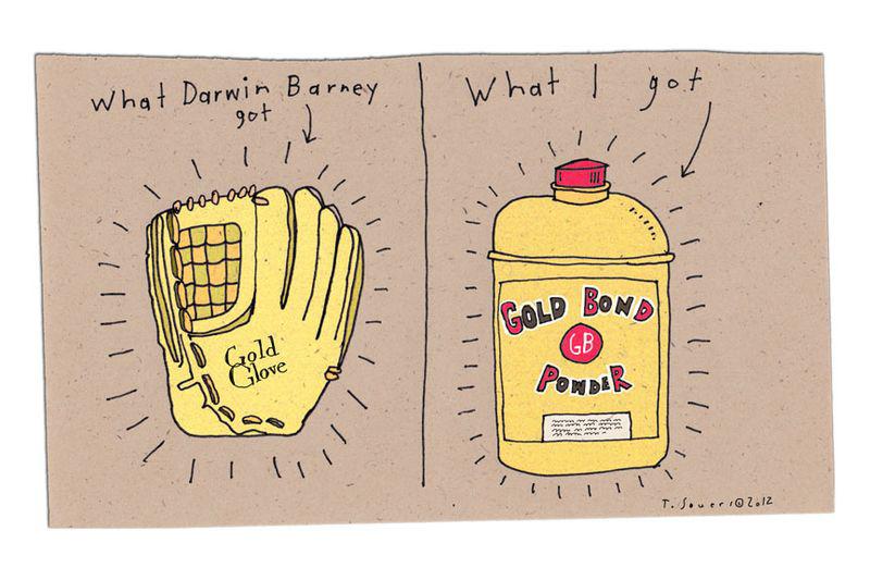 Darwin Barney Gold Glove