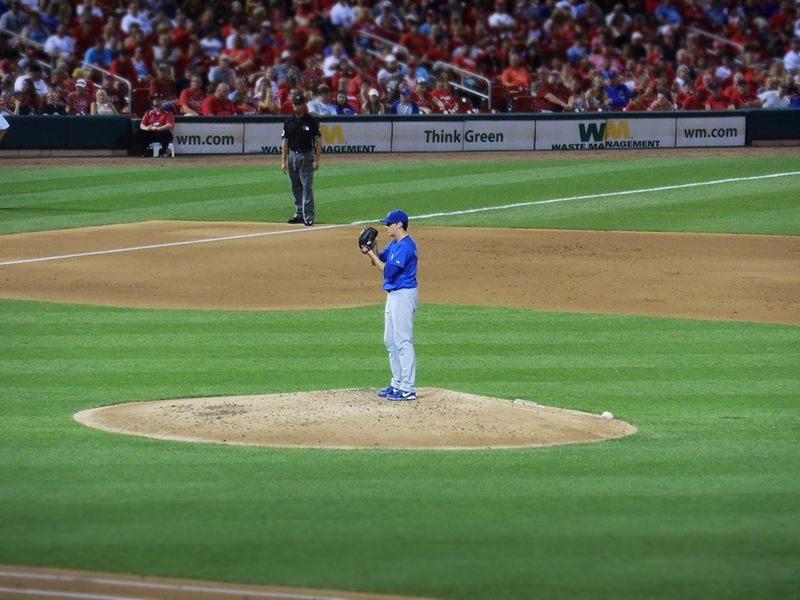 Kyle hendricks in st. louis