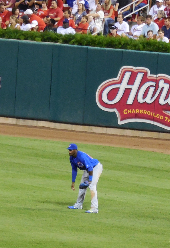 Jorge soler in right field