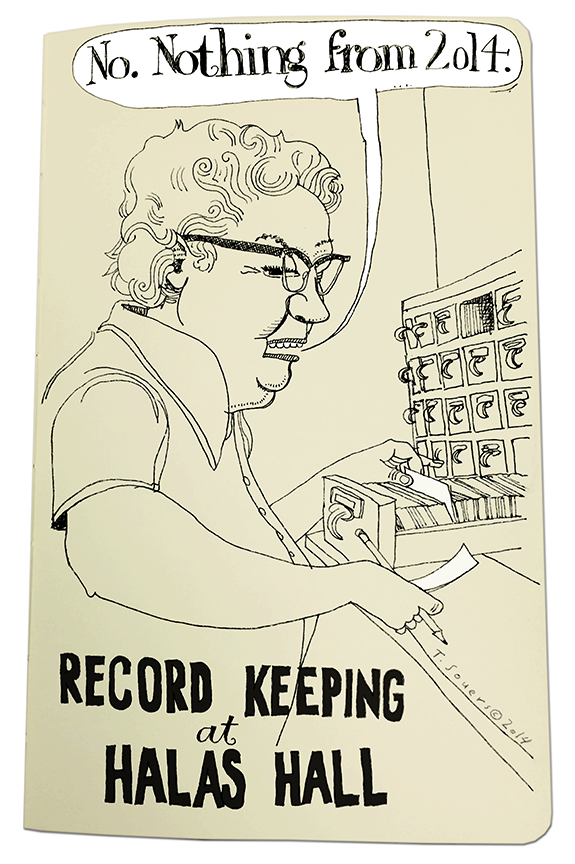 Keeping Records at Halas Hall