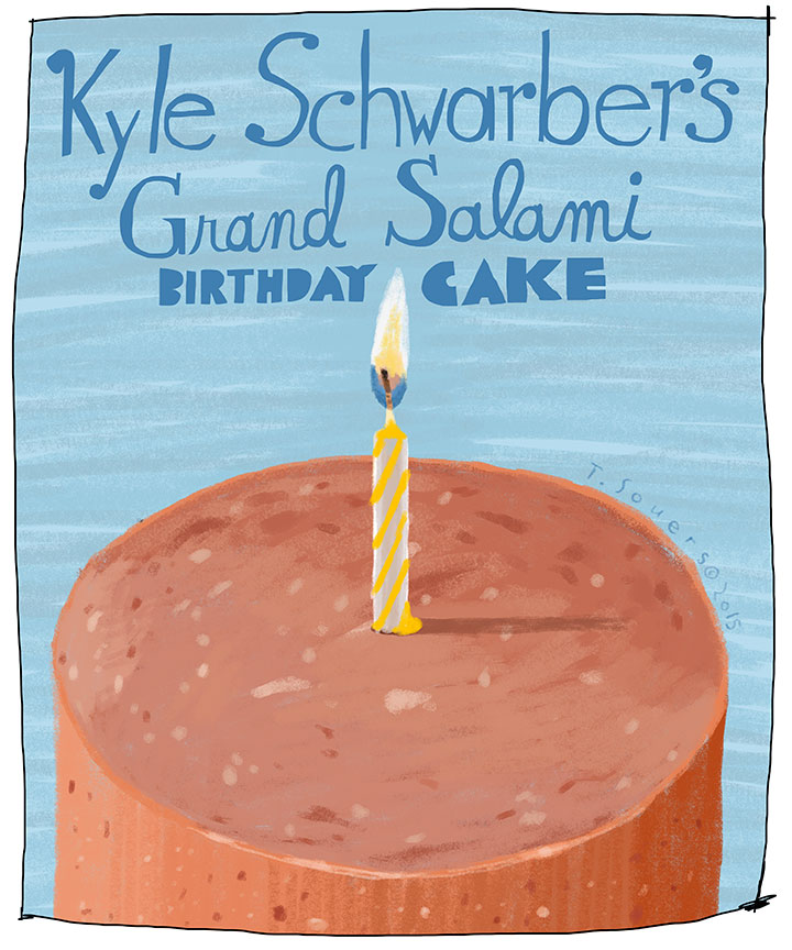 Schwarber's-Grand-Salami-Birthday-Cake