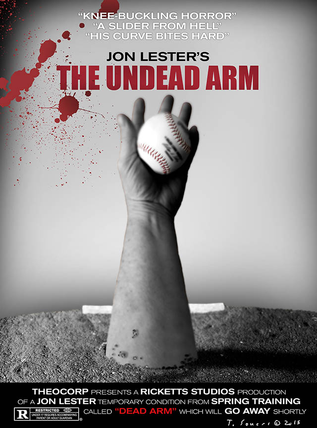 Jon Lester's Undead Arm Movie Poster
