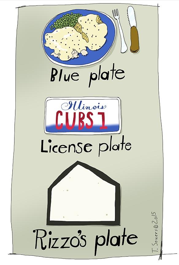 Rizzo's Plate