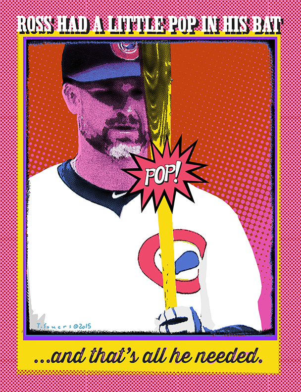 David Ross' pop art