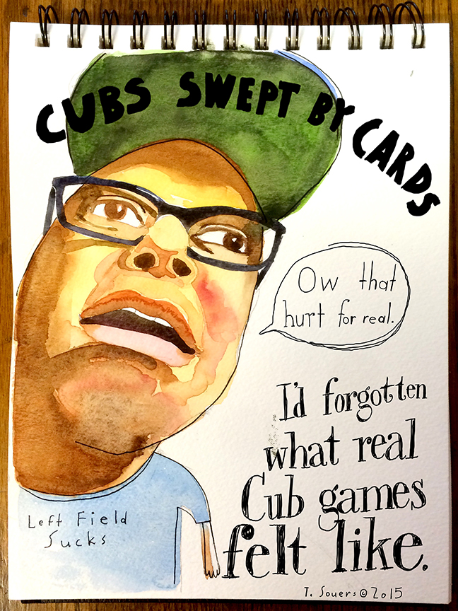 Cards sweep Cubs. It hurt for real