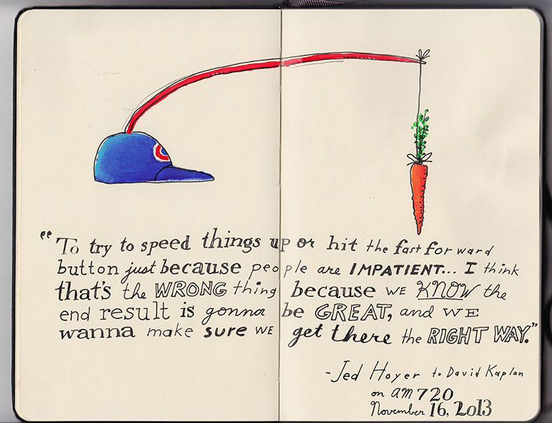 Jed Hoyer's quote