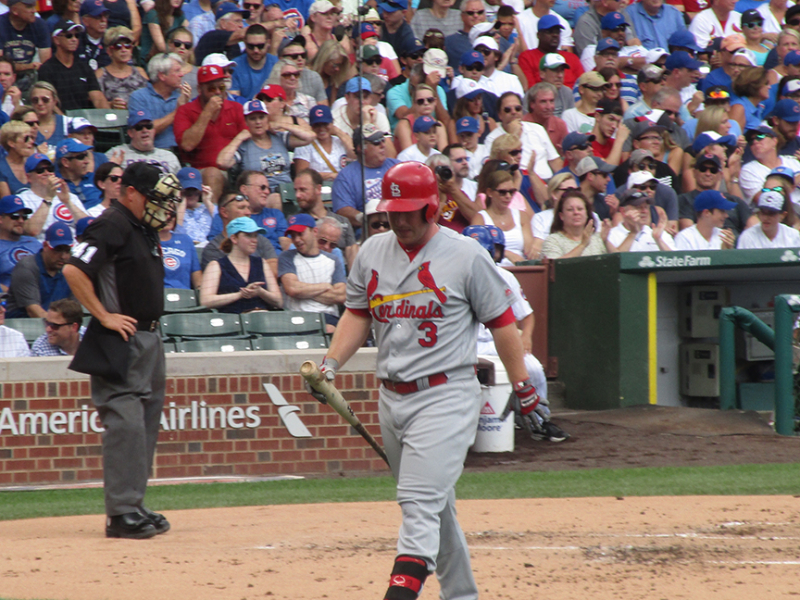 Jedd Gyorko strikes out