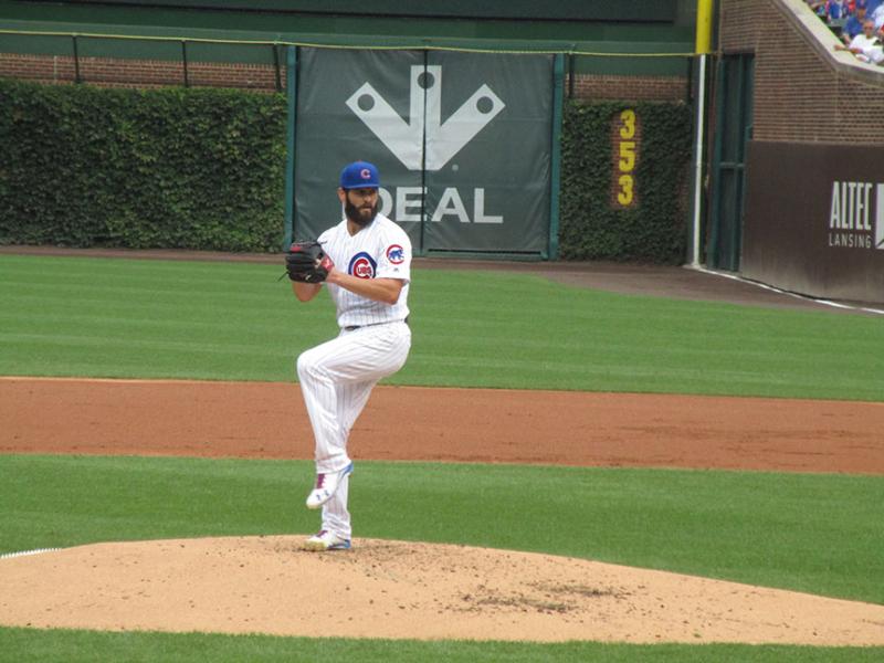 Jake-Arrieta,-Wrigley-Field,-#Cubs