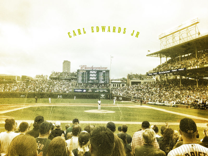 Carl-Edwards-Jr.-Wrigley-Field