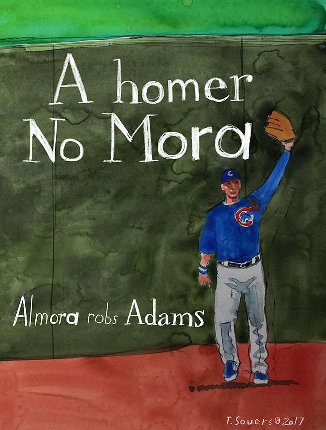 Albert-Almora-Homer-No-Mora