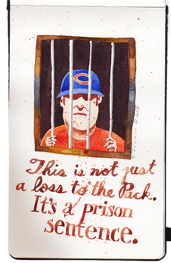 Bears Fans are in prison