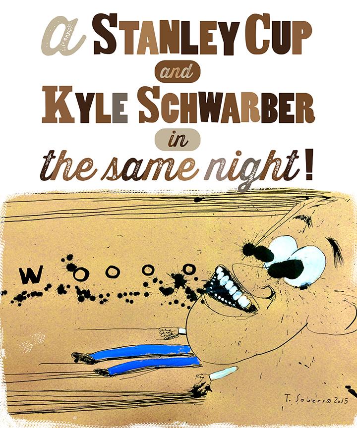 Stanley Cup, Kyle Schwarber