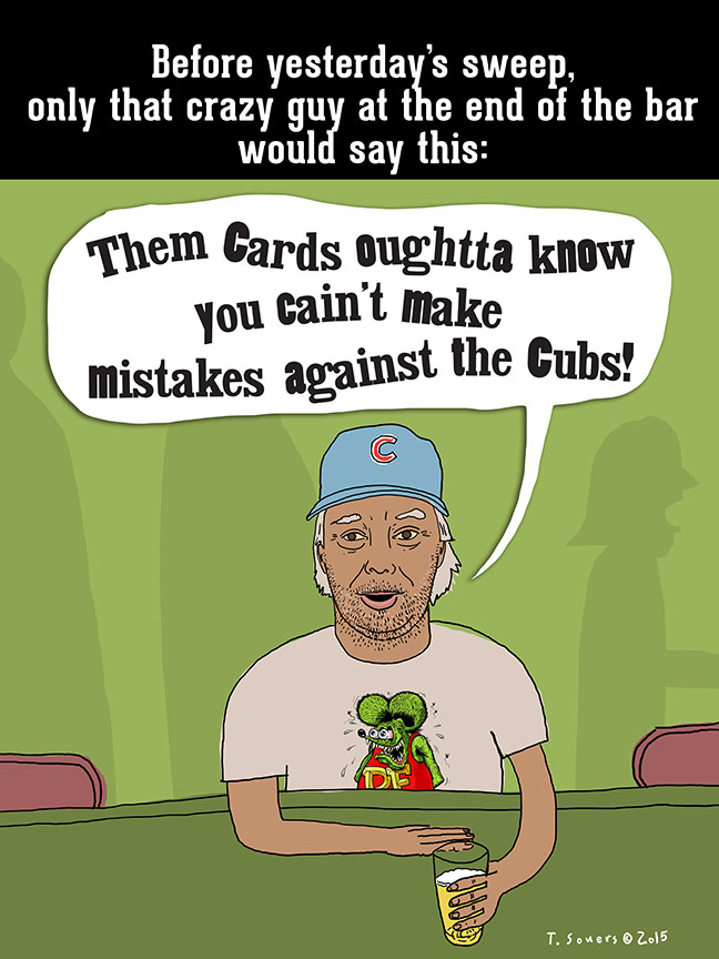 You can't make mistakes against the Cubs
