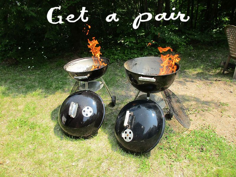Dueling-grills