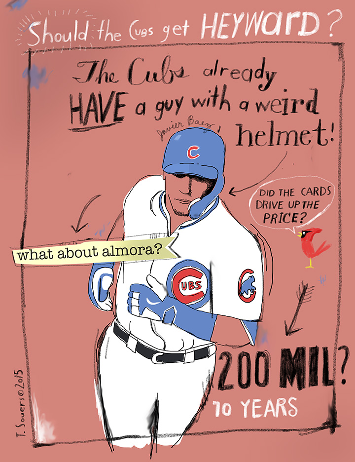 Should the Cubs get Heyward?