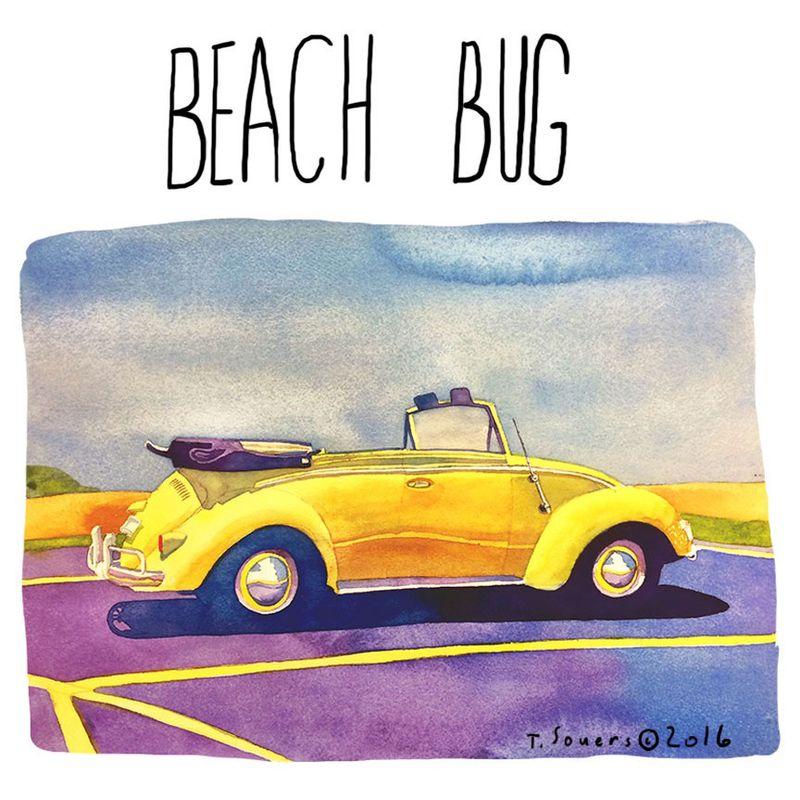 Beach-Bug-Watercolor