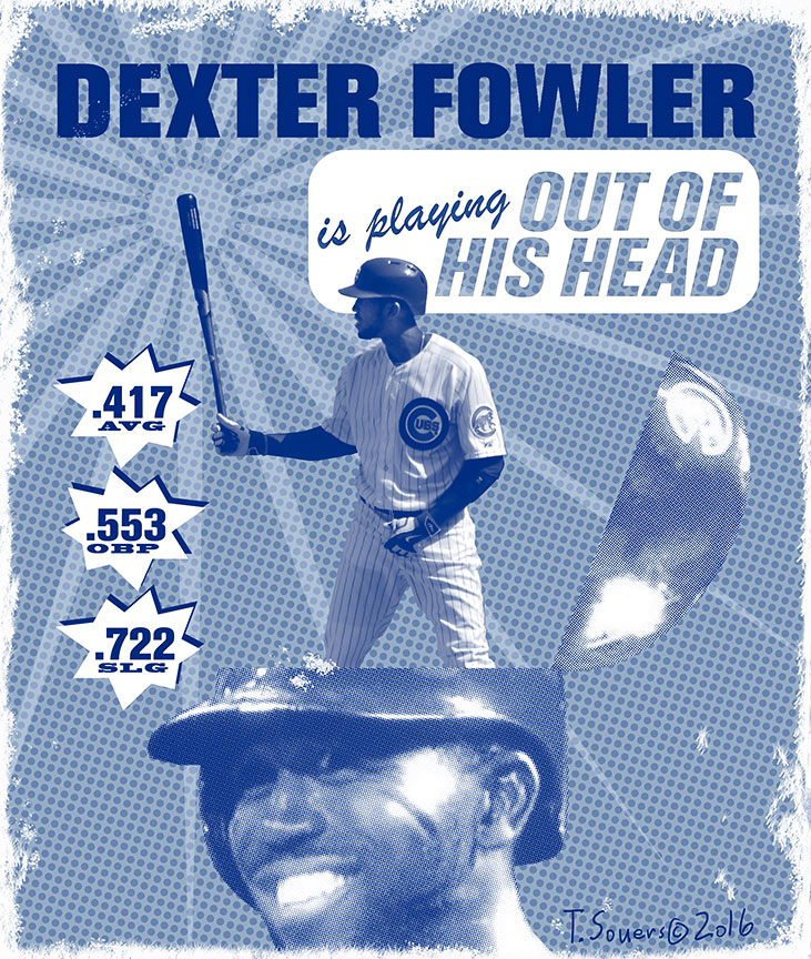 Dexter fowler playing out of his head