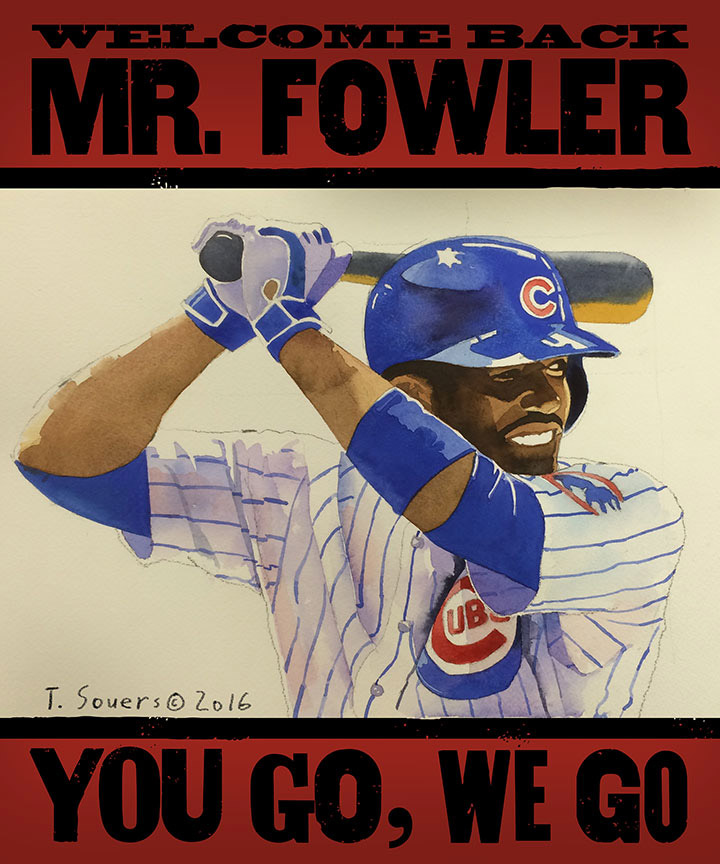 Dexter Fowler you go we go