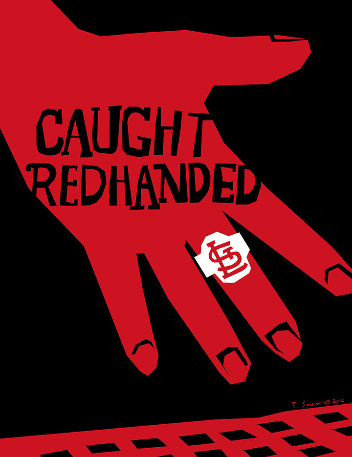 Cardinals-caught-red-handed