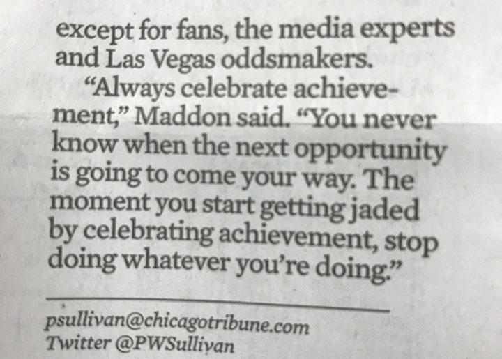 Maddon-Quote