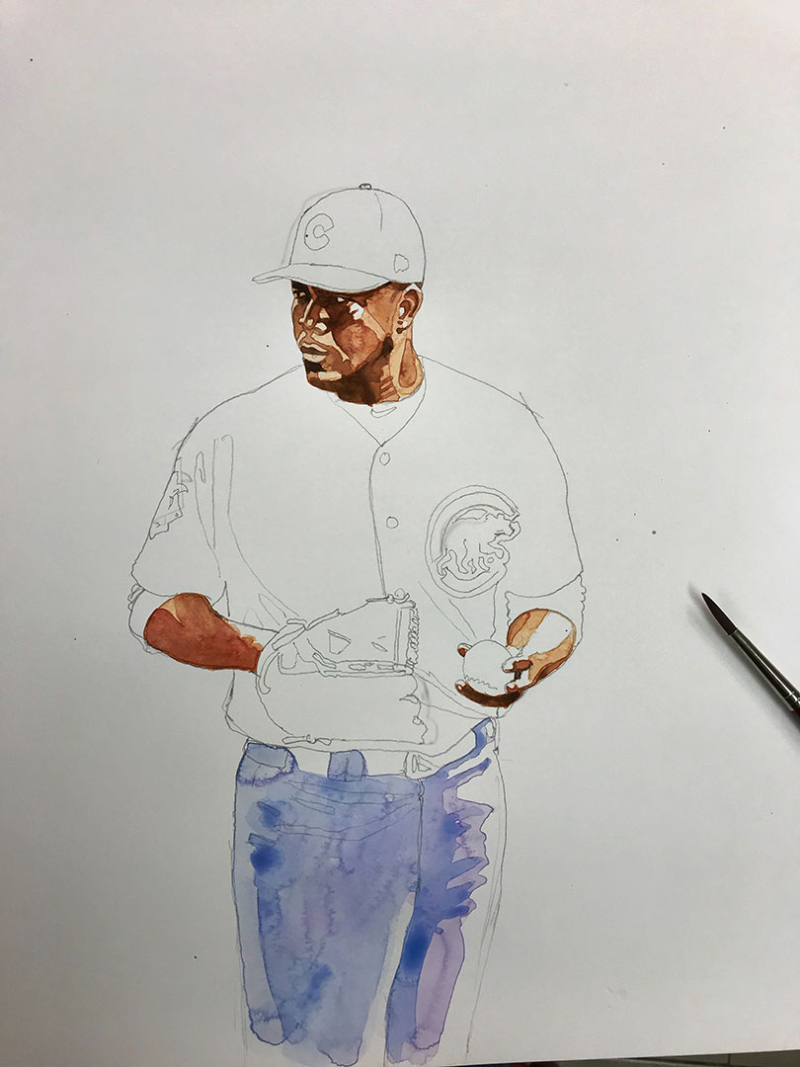 Jose-Quintana-Cubs-Rough.Watercolor