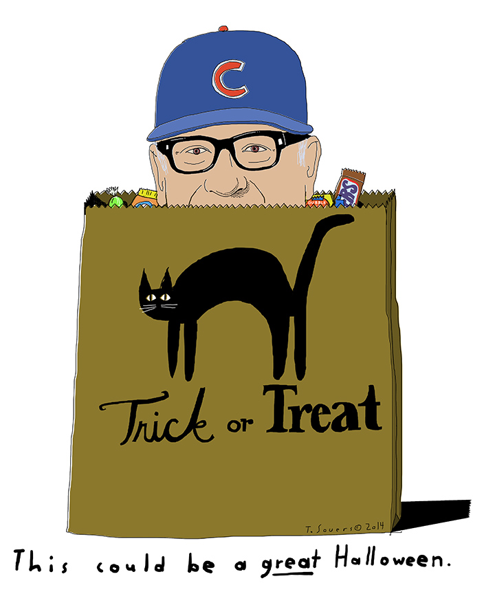 Joe Maddon Halloween