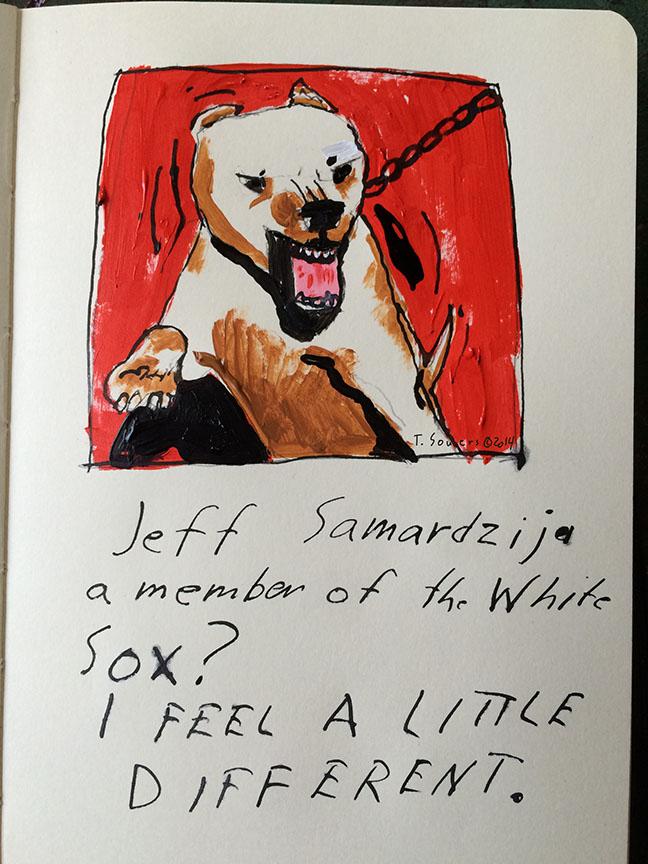 Jeff Samardzija as a Sox