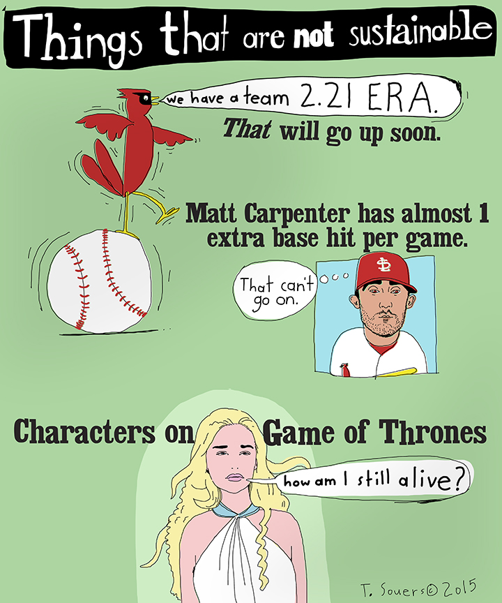 #Cardinals things that are not sustainable