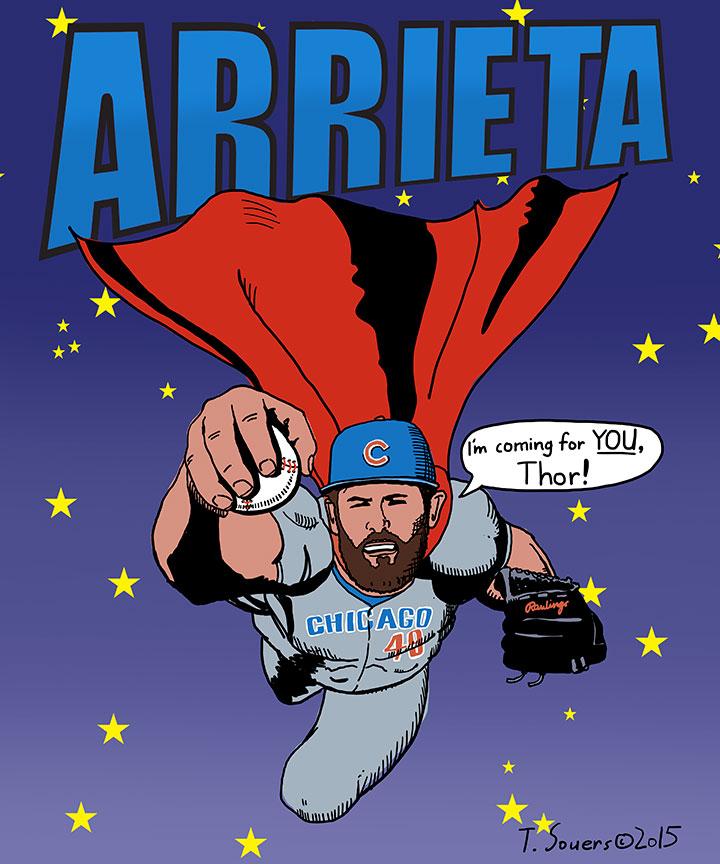 Jake-Arrieta-Superman-vs-Thor